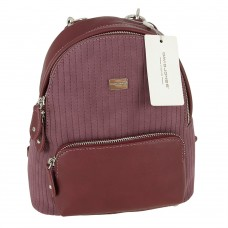 Plecak David Jones 5829-2 DARK BORDEAUX