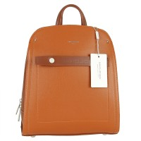 Plecak David Jones 6247-2 COGNAC